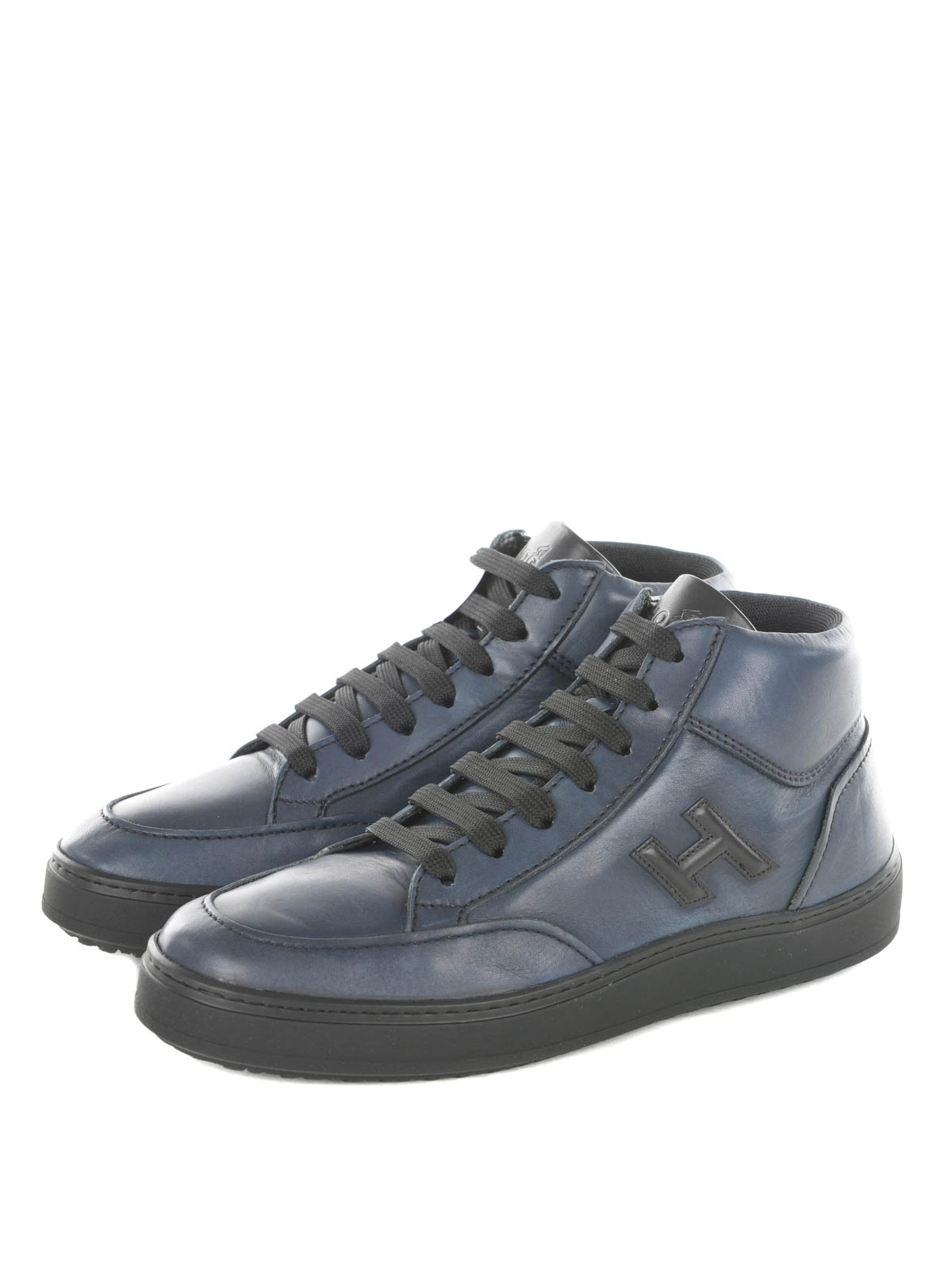 Pre-owned - Leather trainers Hogan evIkRQ4n
