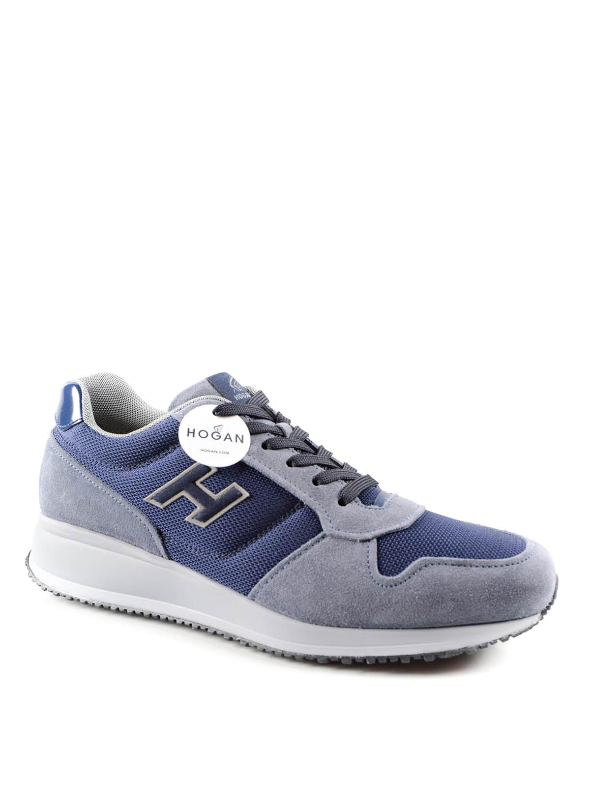 baskets interactive n20 pour homme de hogan chaussures de sport ikrix ikrix. Black Bedroom Furniture Sets. Home Design Ideas