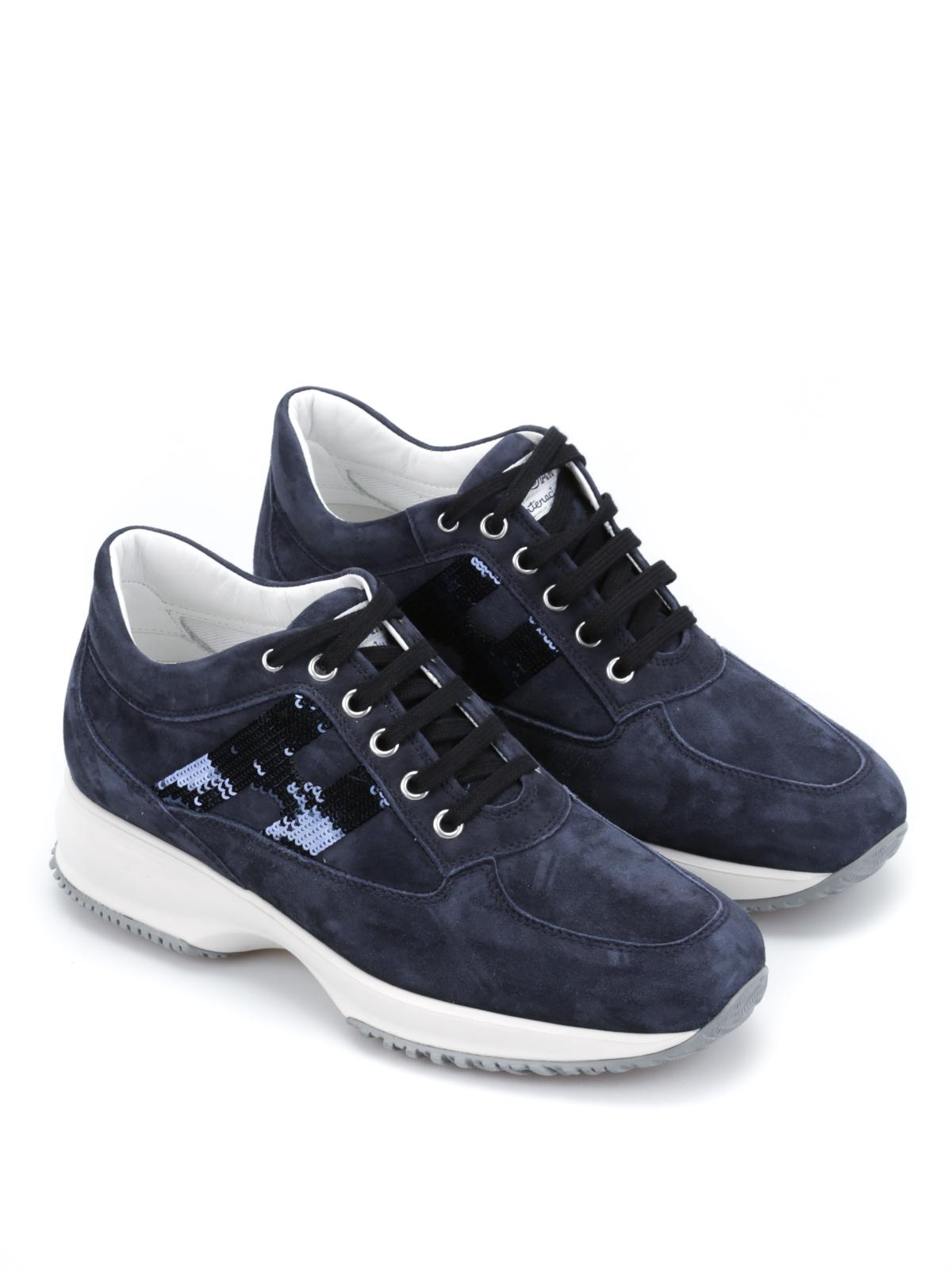 Chaussures De Sport Bleu Interactif Hogan qz5QV