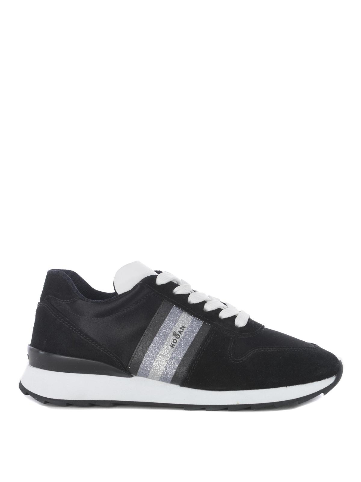 Hogan - Sneaker R261 con banda glitter - sneakers - GYW2610AZ40JZY0002 f44b460aae3
