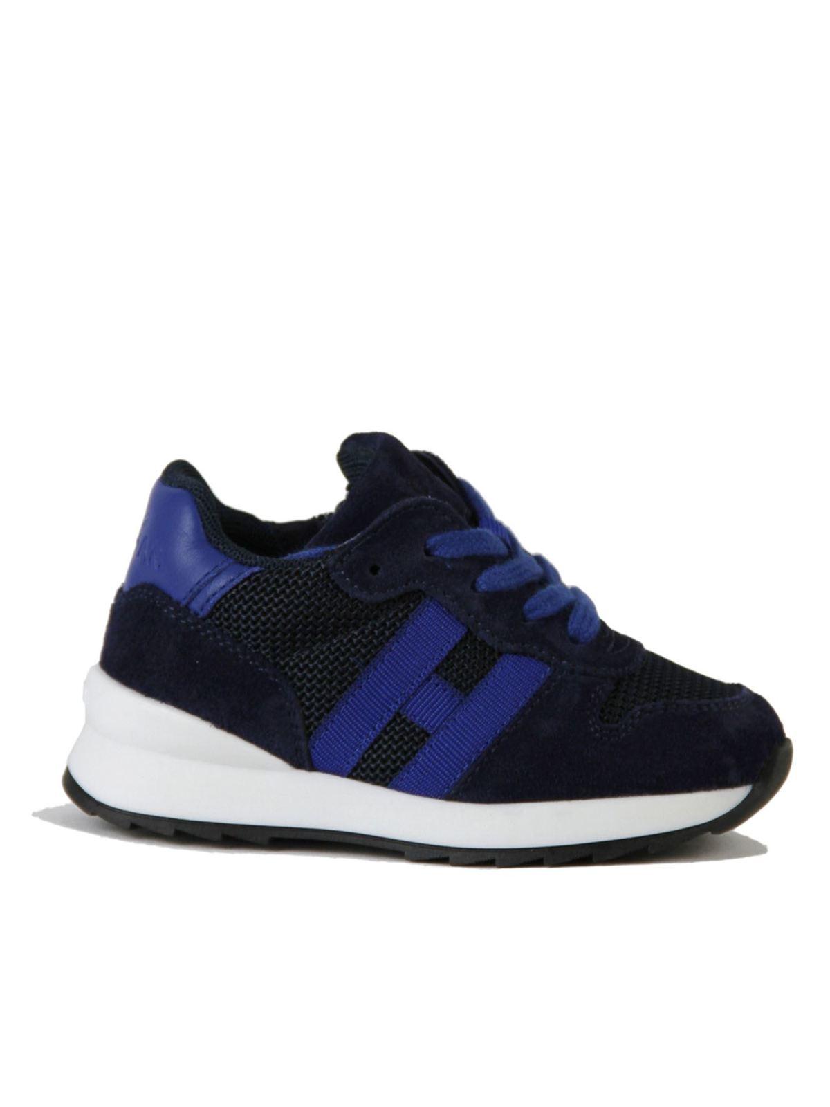 HOGAN RUNNING SNEAKERS R261 FIRST STEPS IN BLUE