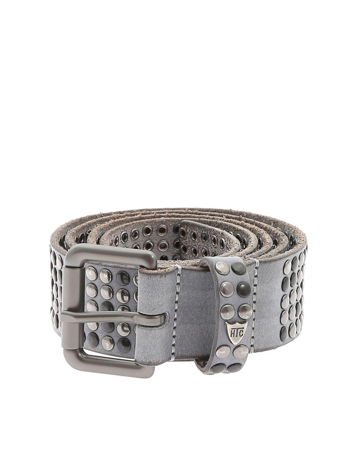 Htc Studs calfskin belt