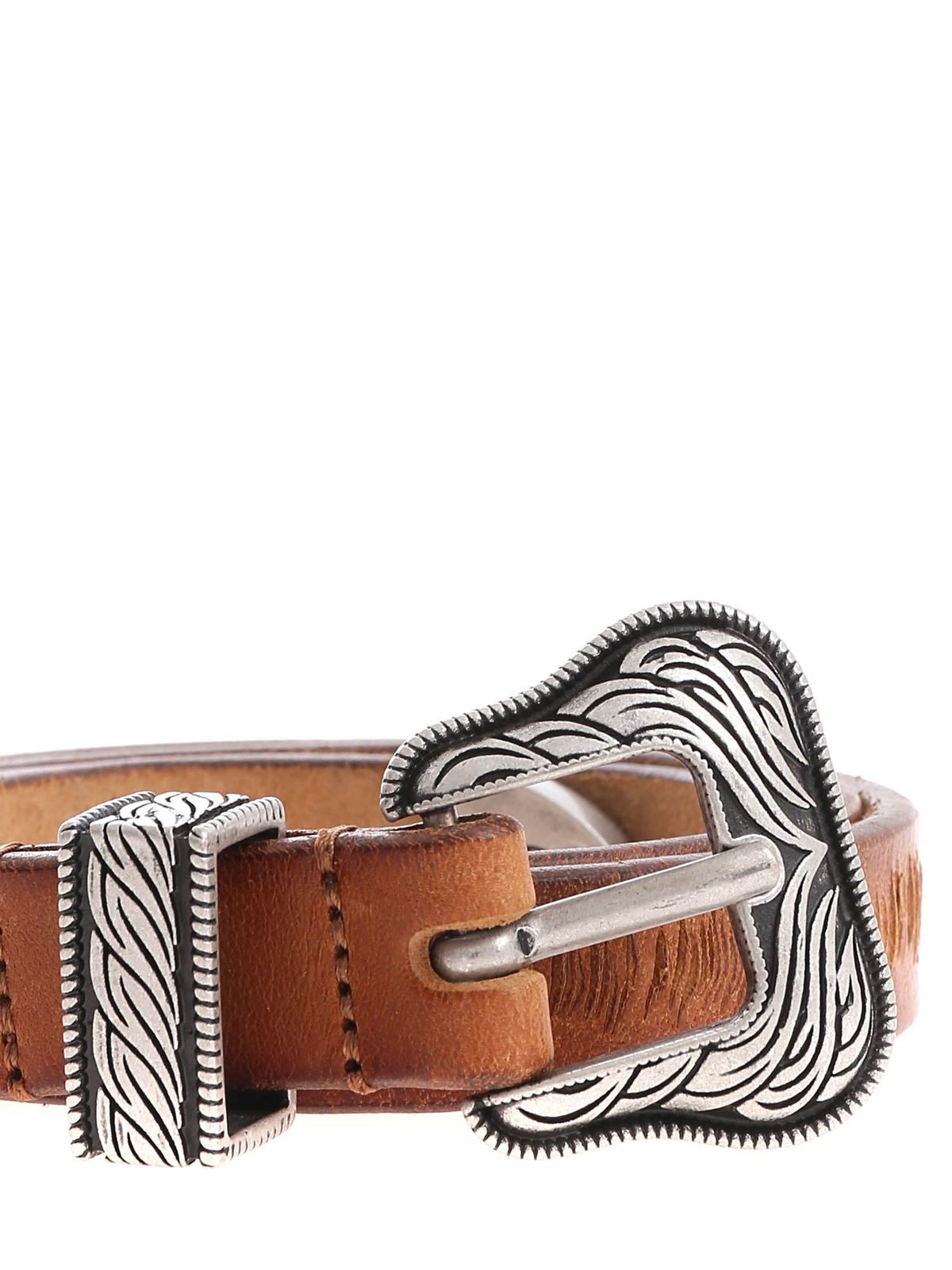 l'atteggiamento migliore 4cf8c 2f8c9 Htc - Cintura Lamar Slim Belt color marrone cuoio - cinture ...
