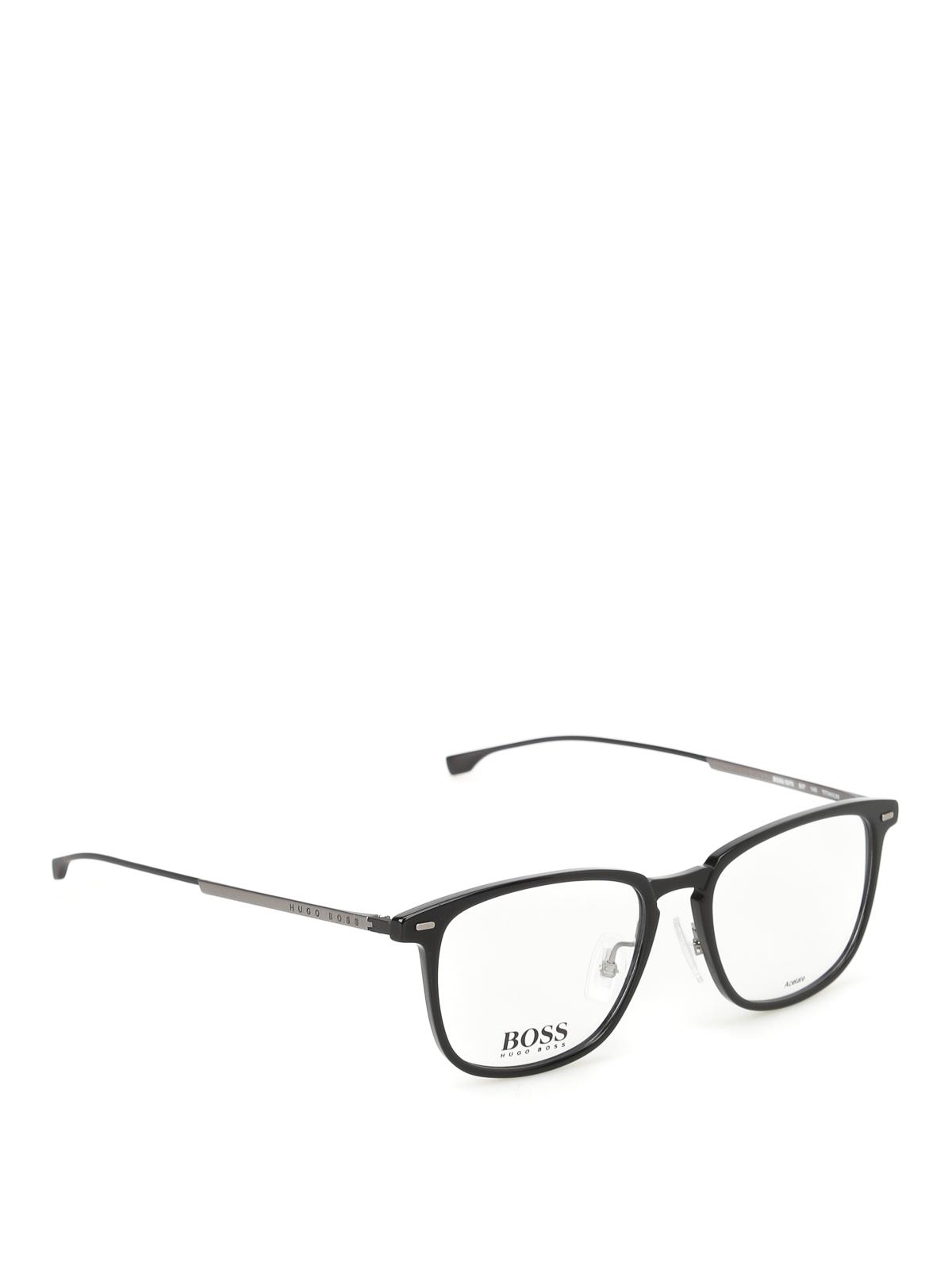 9f2eb44940 Hugo Boss - Occhiali da vista squadrati - occhiali da sole ...