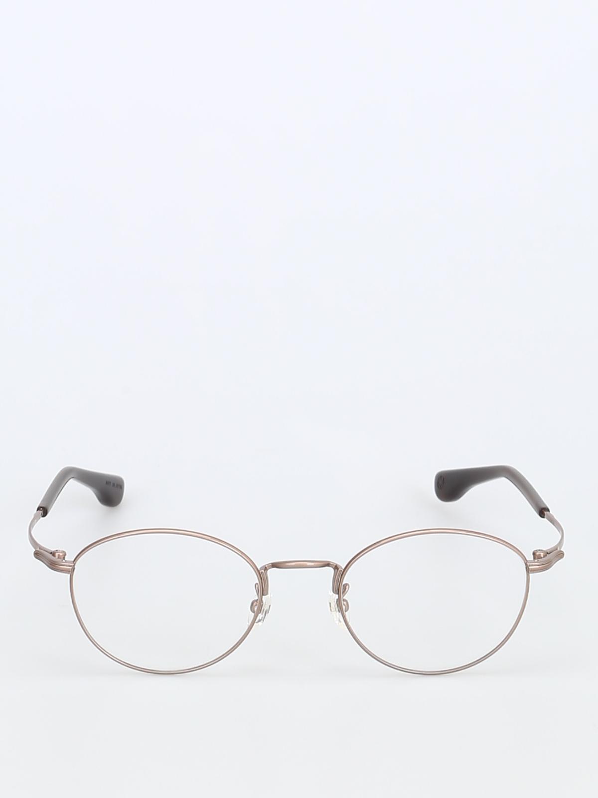 5cbca91fbf iKRIX 999.9 FOUR NINES  Glasses - Metal round slender frame eyeglasses