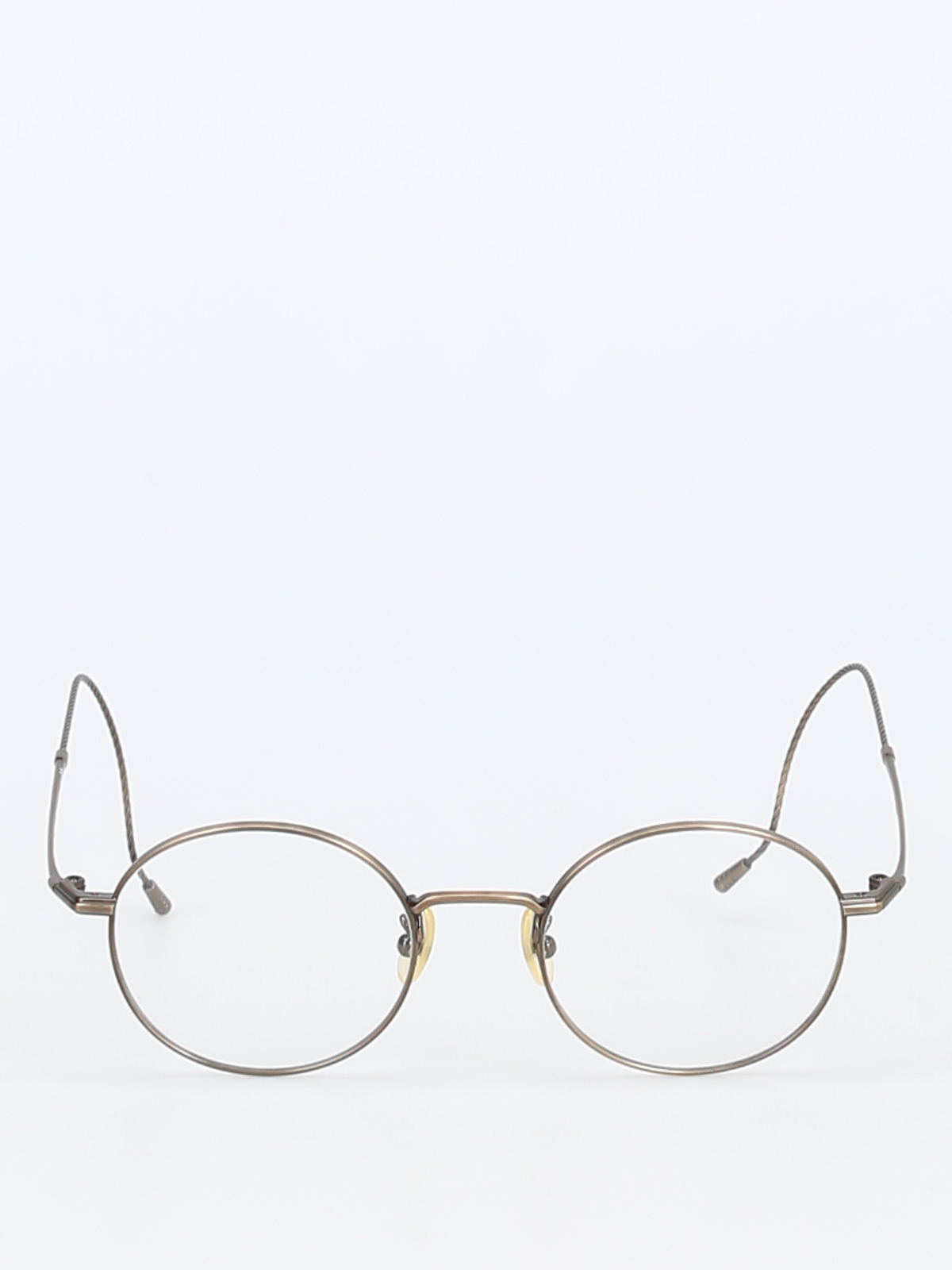 25ea2d0784 999.9 four nines - Metal thin round frame eyeglasses - glasses - S-180T3