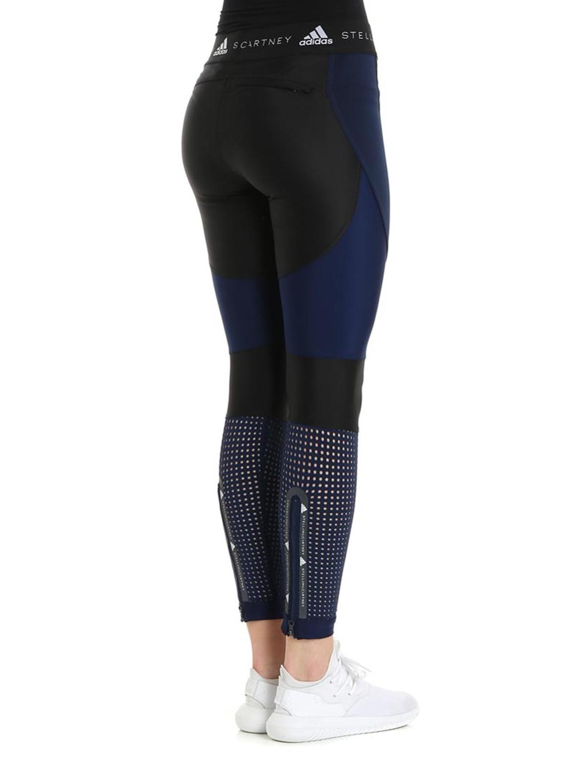 a8e41bb9366f76 iKRIX ADIDAS BY STELLA MCCARTNEY: leggings - Recycled jersey training tights