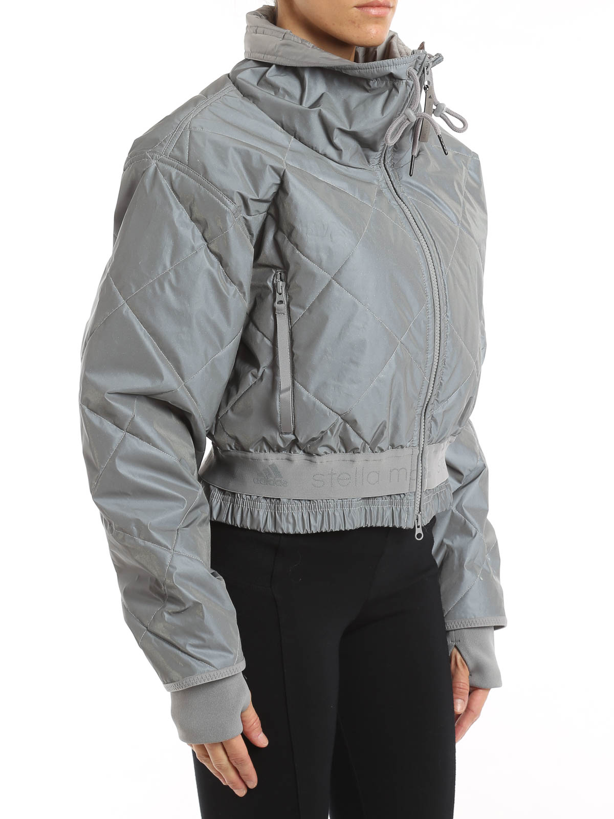 iKRIX Adidas by Stella McCartney: padded jackets Essentials reflective jacket