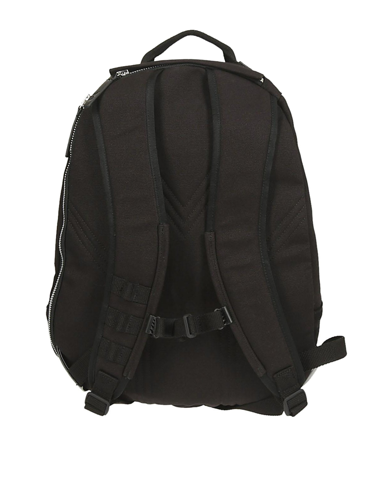 68734c94013c Adidas Y-3 - Black cotton and suede backpack - backpacks - CY3487