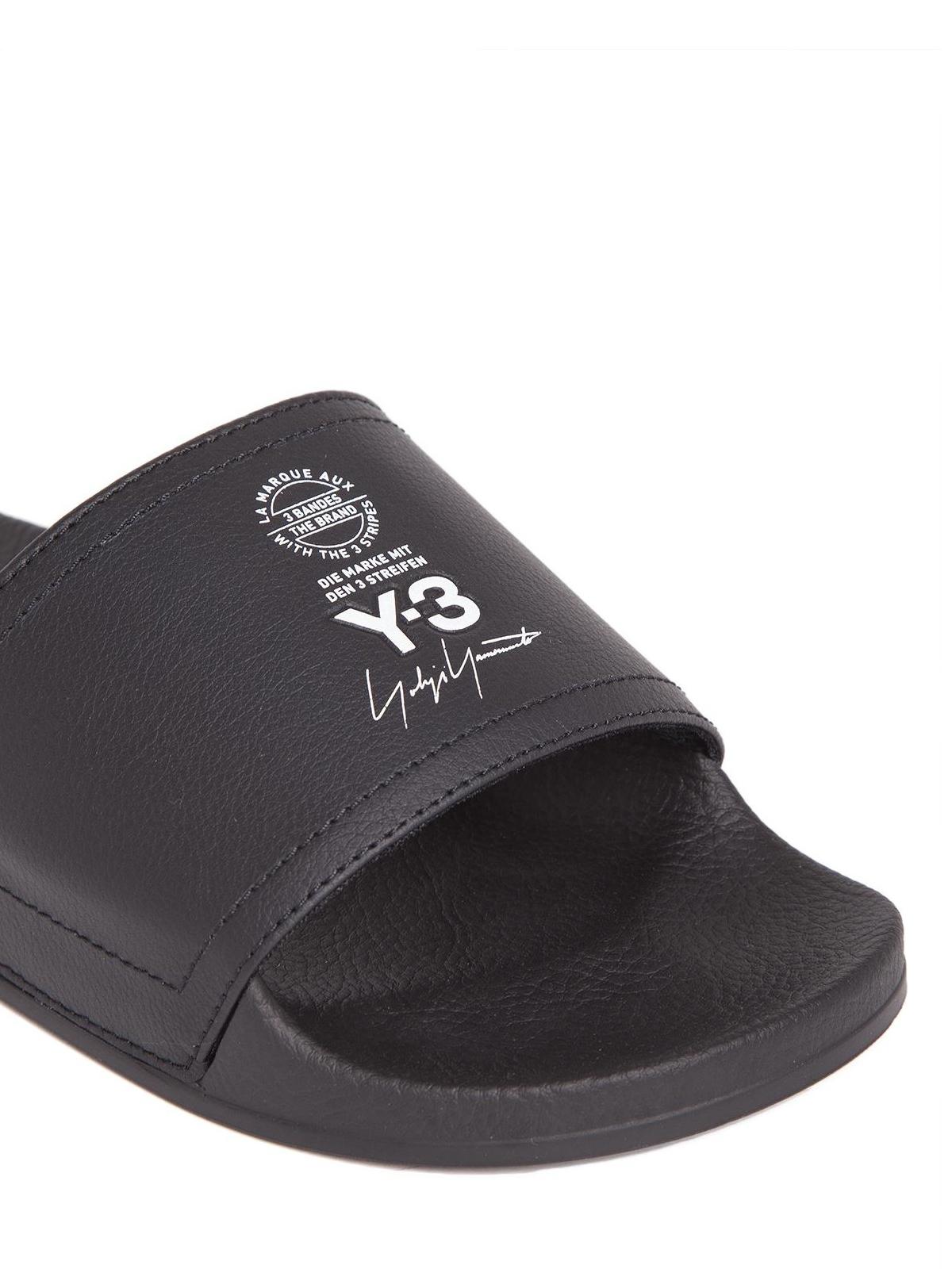 e5cbeb8e00a Adidas Y-3 - Sandalias - Negro - Sandalias - AC7525ADILETTECBLACK