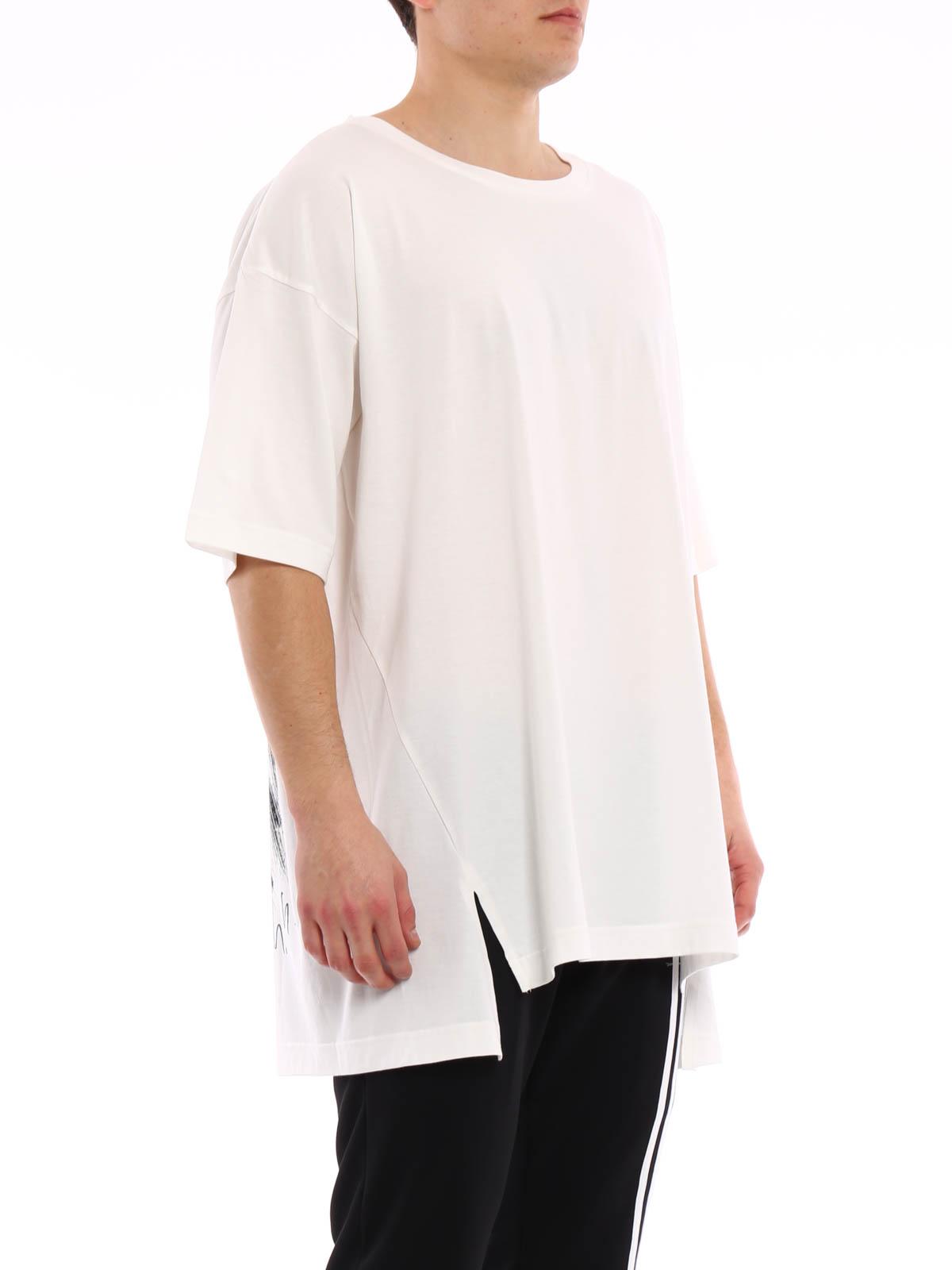 back print cotton t shirt by adidas y 3 t shirts ikrix