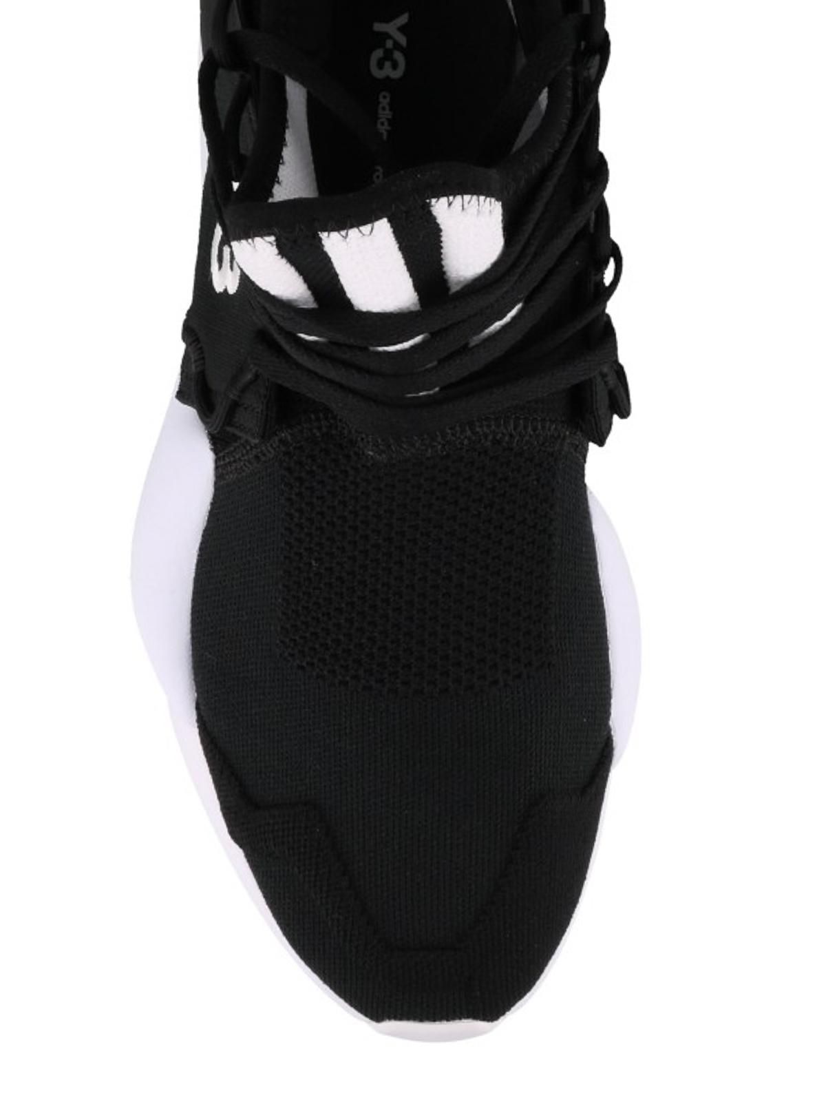 f25a6a1d33d Adidas Y-3 - Kaiwa Knit black sneakers - trainers - F97424 | iKRIX.com