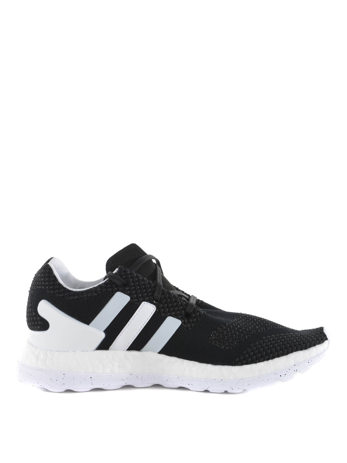 ce10c1ed58c7 Adidas Y-3 - Pure Boost ZG Knit sneakers - trainers - AQ5729 BLACK WHITE