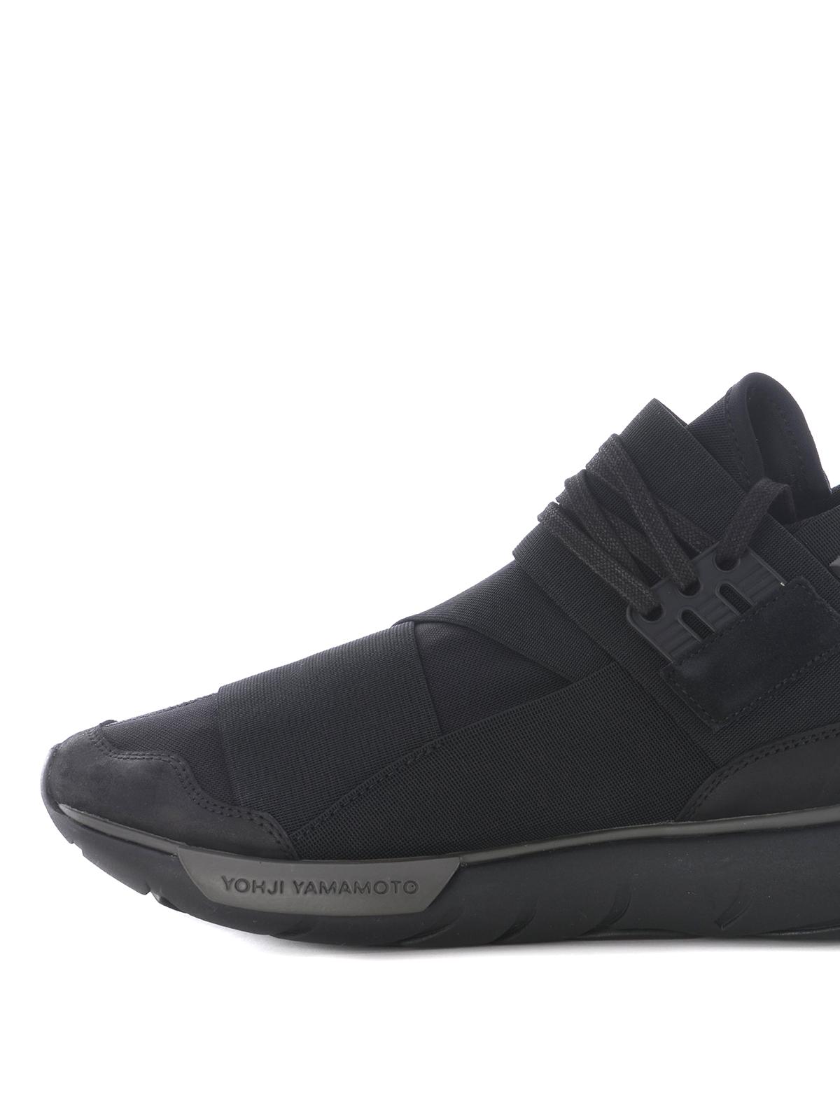 Automático contenido opción  Adidas Y-3 - Qasa High elastic bands sneakers - اسپرت،اسنیکرز - CP9854