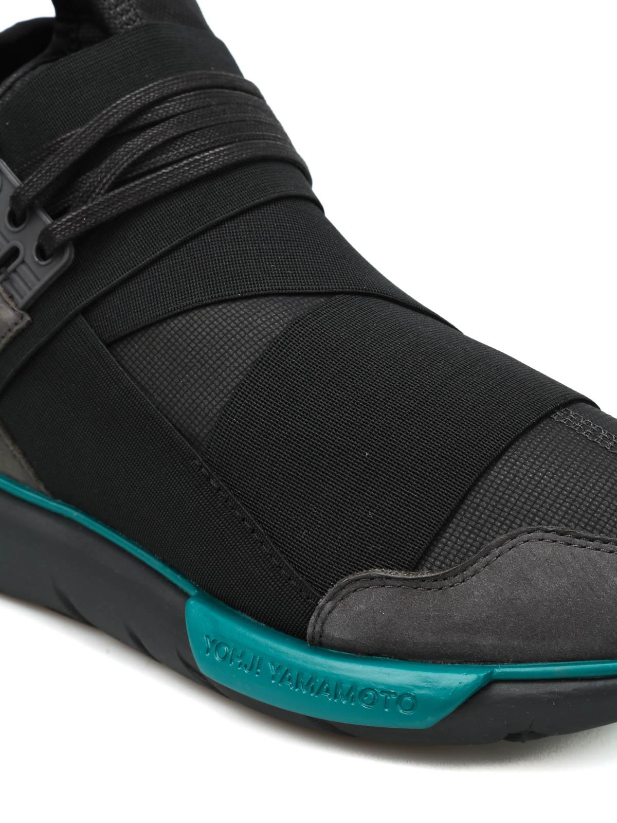 8aa2242273e7b Adidas Y-3 - Qasa High slip-on sneakers - Sneaker - BB4735