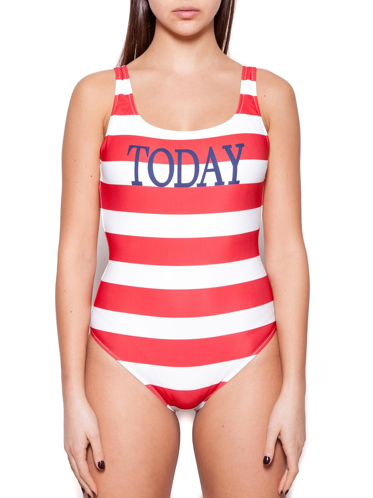 c7c43f687e iKRIX ALBERTA FERRETTI: one-piece - Rainbow Week Stripes Today swimsuit