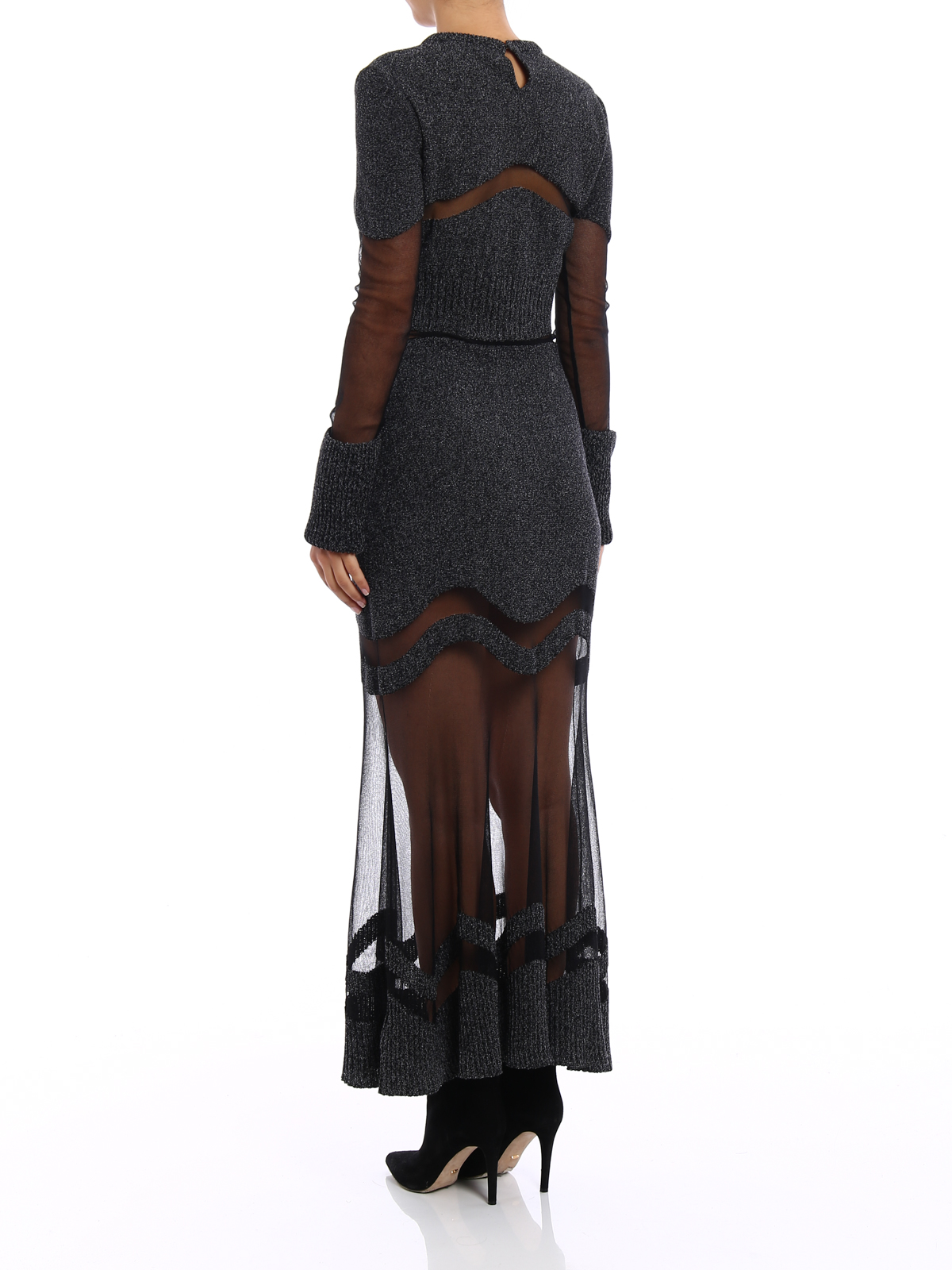 Alexander Mcqueen - Abendkleid - Dunkelgrau - Abendkleider