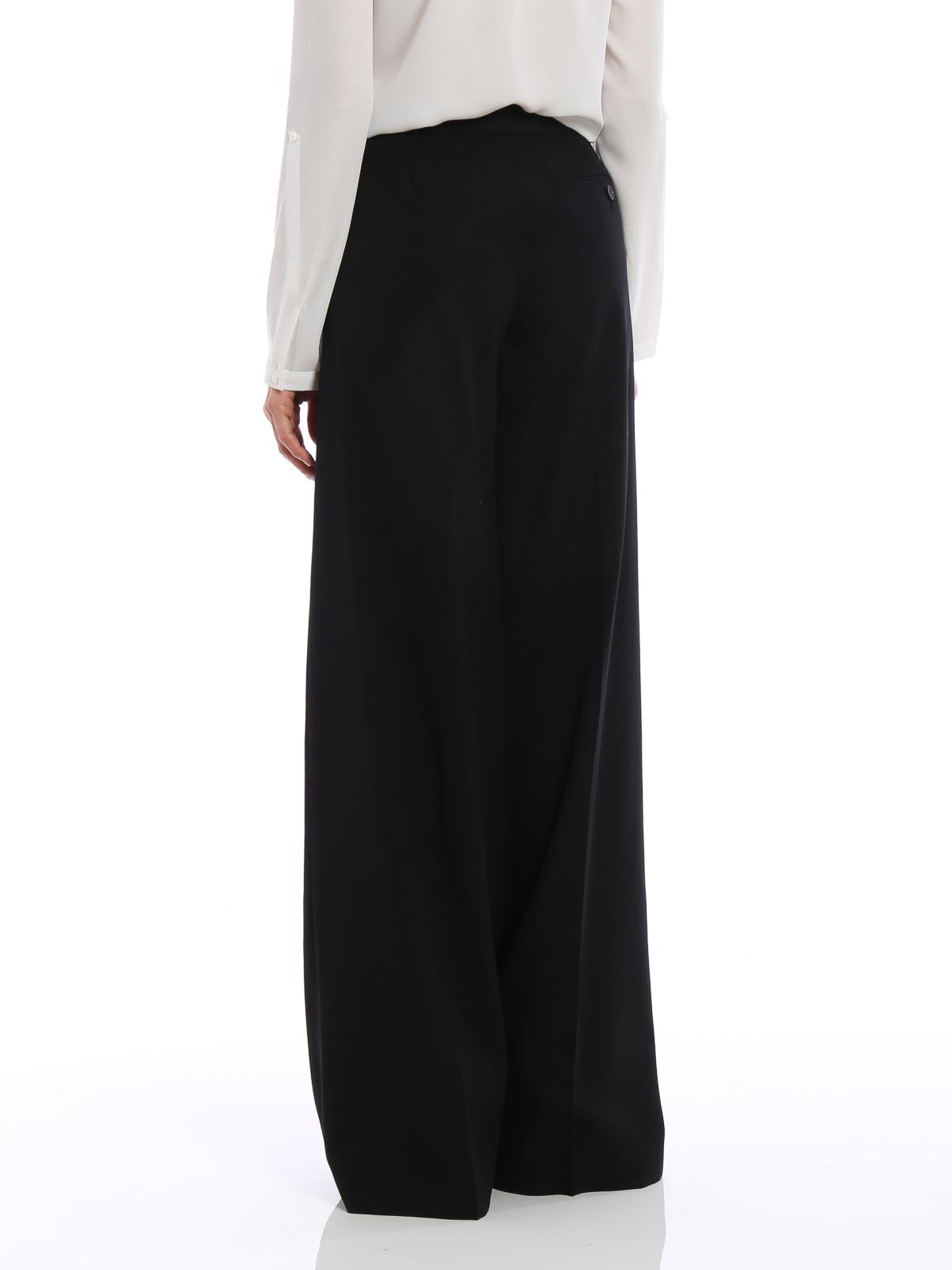 7e1b72483c24 iKRIX ALEXANDER MCQUEEN  Pantalons élégants - Pantalon Couturier - Noir