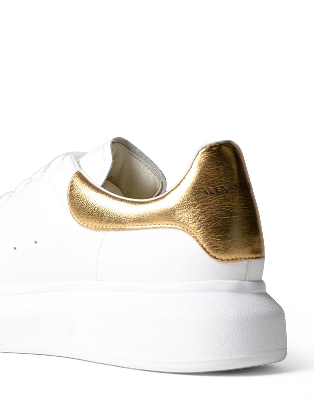 Alexander Mcqueen - Sneaker Oversize con inserto oro ...