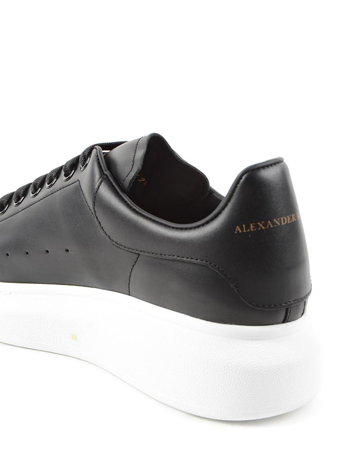 the sale of shoes cute cheap in stock Alexander Mcqueen - Baskets Noir Pour Homme - Chaussures de ...