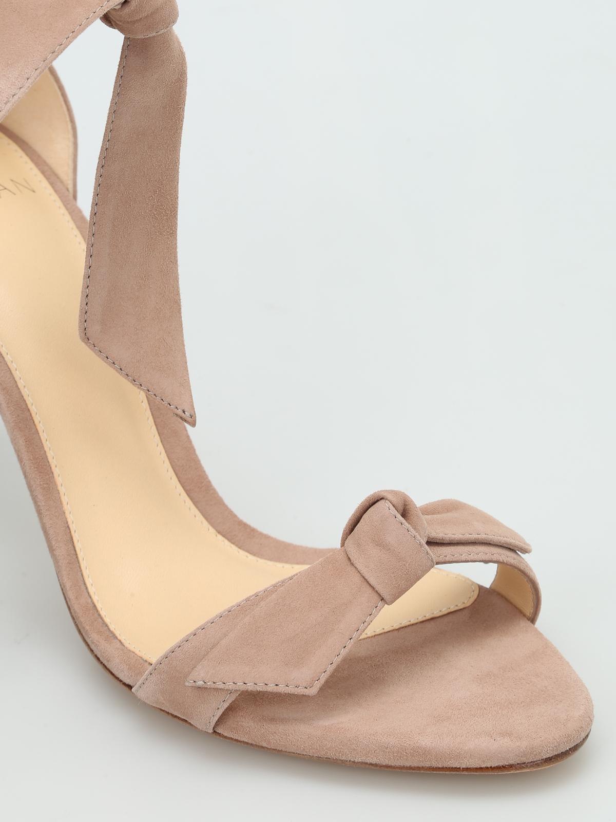 a26369a618c Alexandre Birman - Clarita suede sandals - sandals - B3 5084 0001S CAMEO