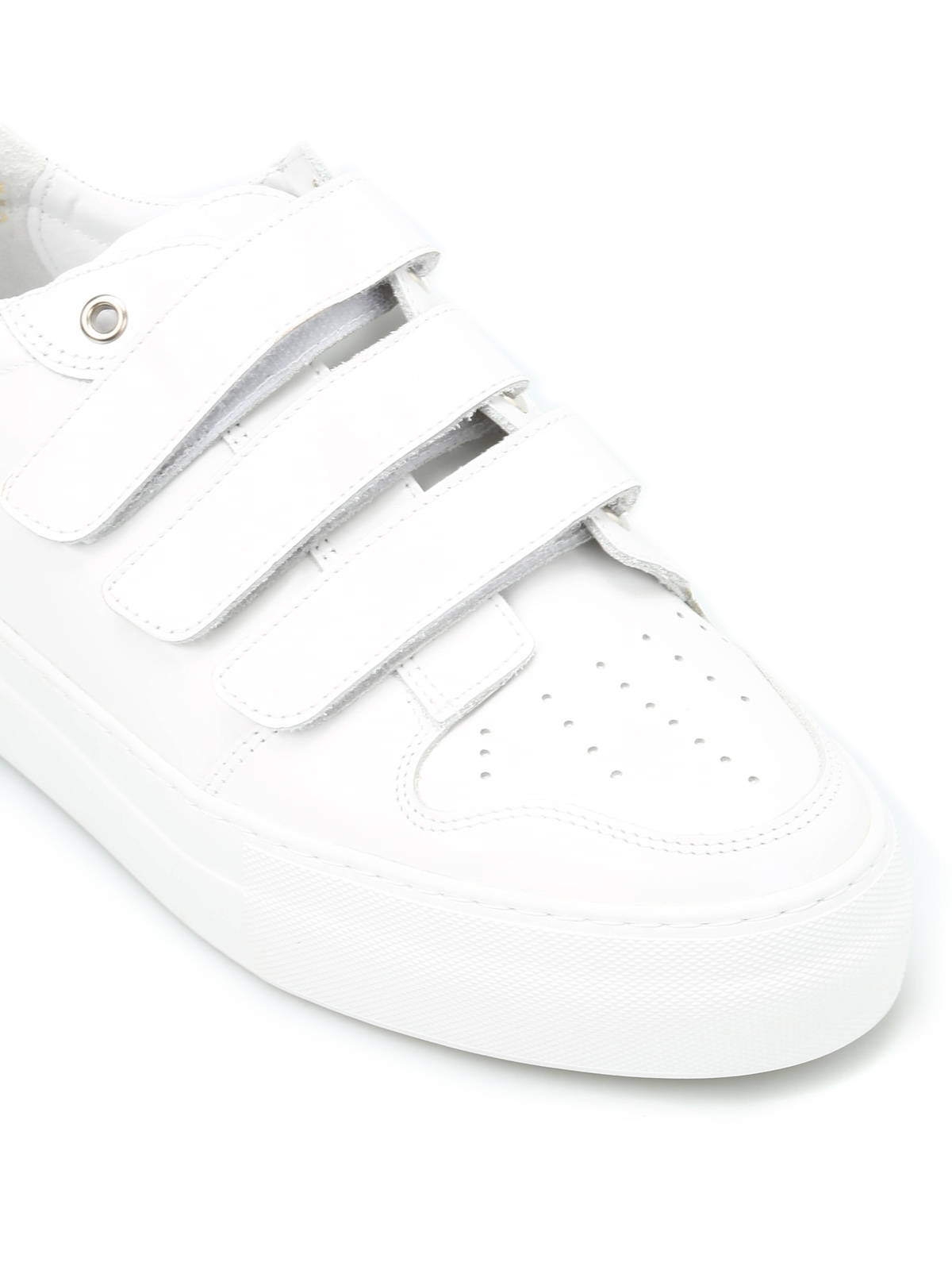 AMI ALEXANDRE MATTIUSSI White Leather Sneakers