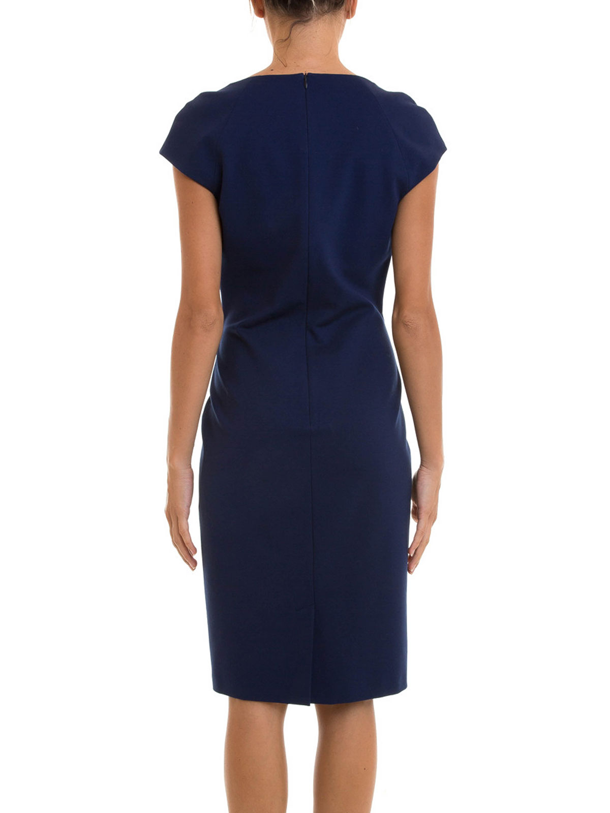 cap sleeve shift dress by angelo marani knee length