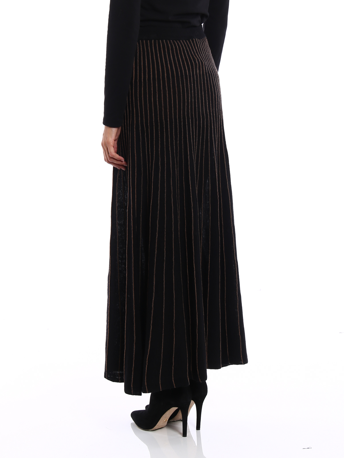 nuovo concetto 7e413 e10e4 Antonio Marras - Gonna in maglia di lana a righe - Gonne ...