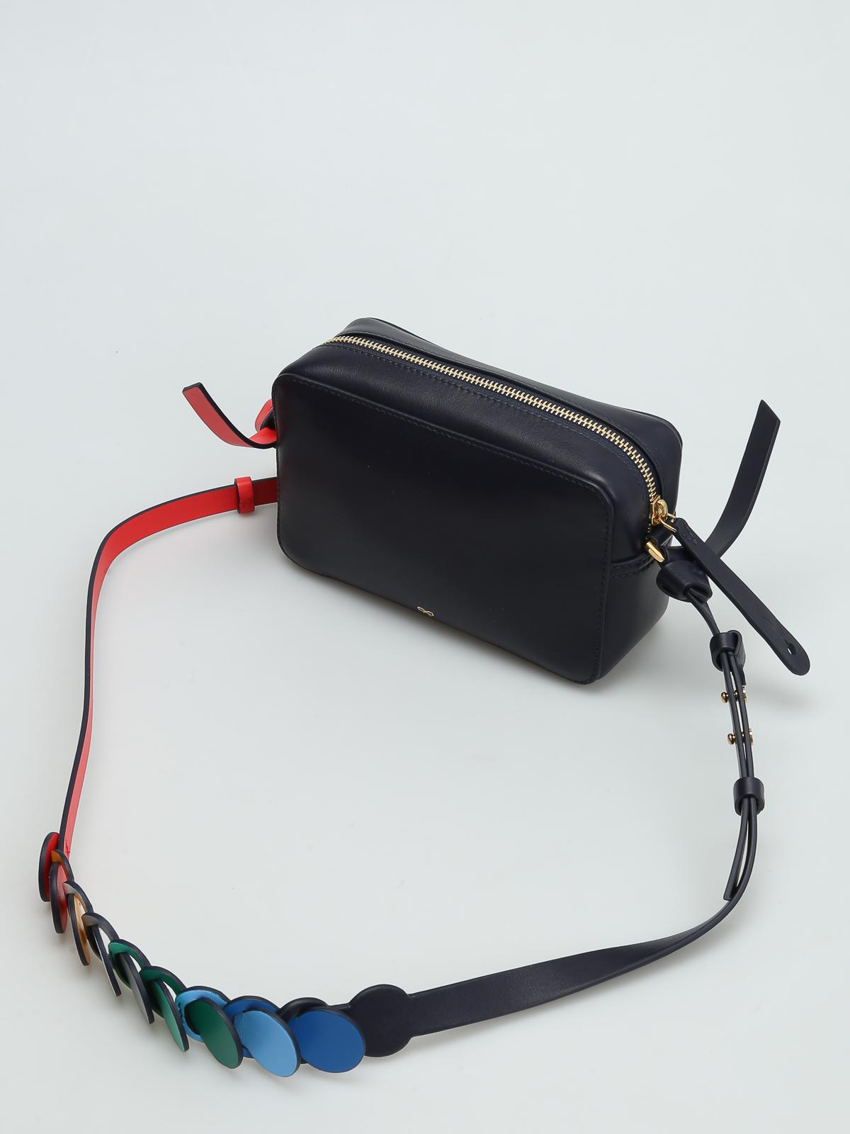 Anya Hindmarch Two-tone crossbody bag 4MqeSYXLZA