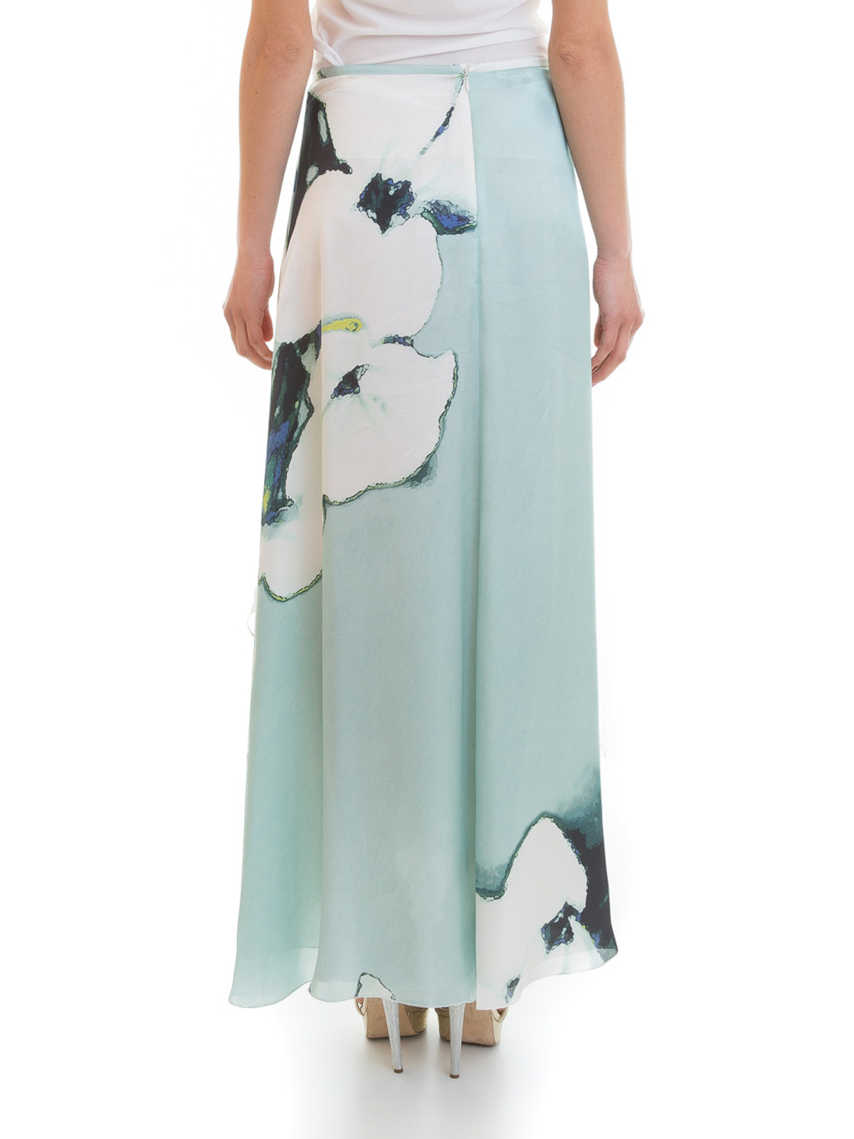 product pale beckham mint victoria in shop drapes skirt draped dress