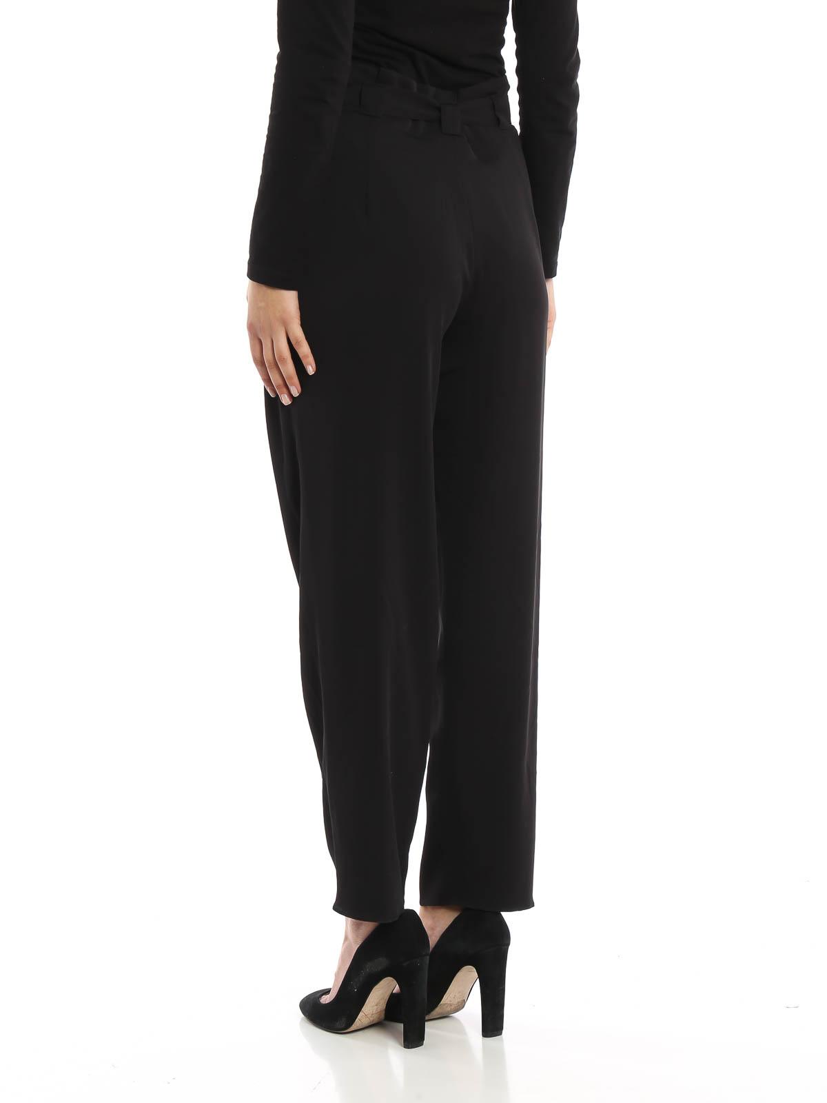 efe692c536 iKRIX ARMANI COLLEZIONI  Pantalones de sastrerìa - Pantalón De Vestir Negro  Para Mujer