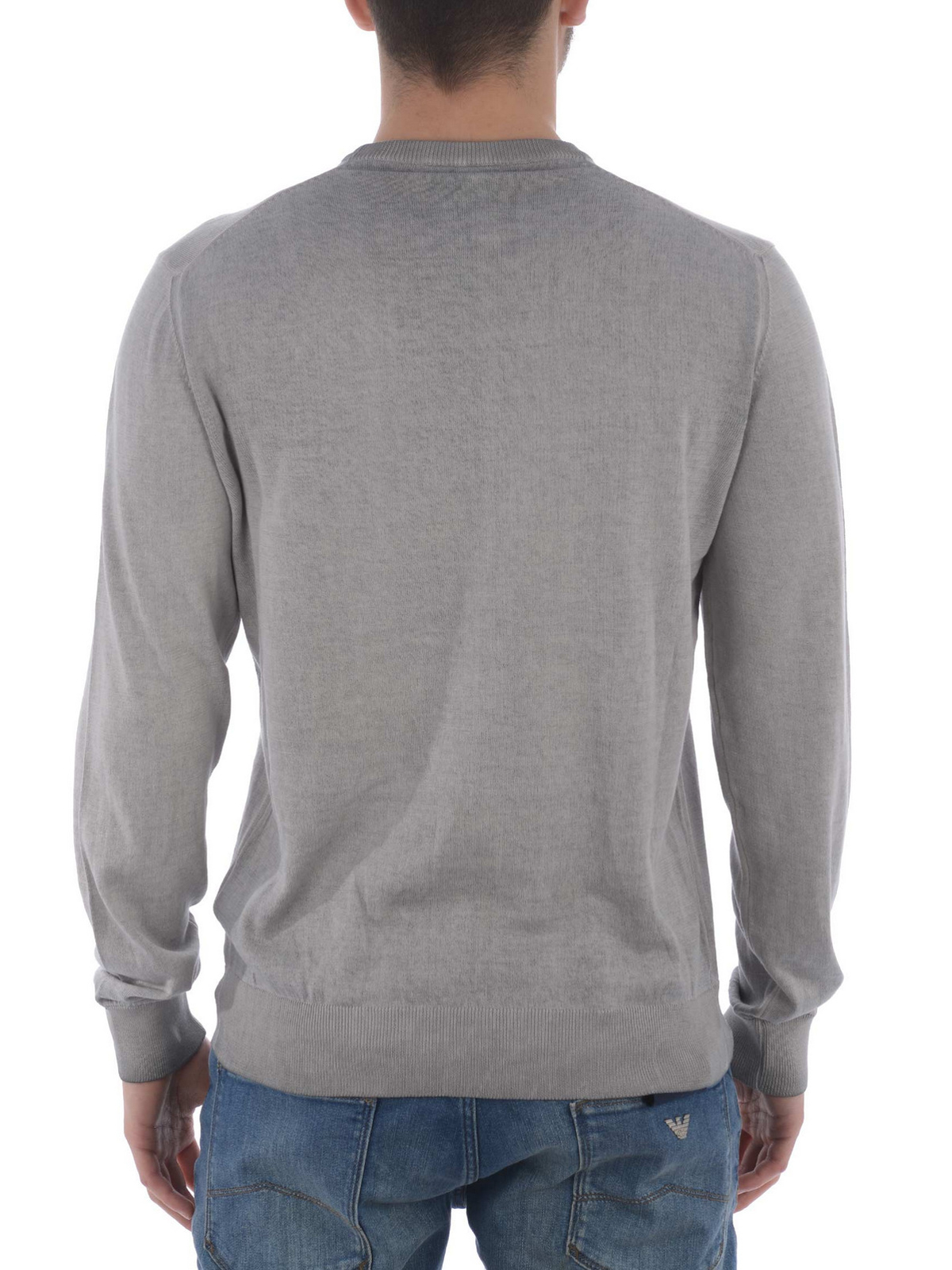 aa455bf3d0b2 iKRIX Armani Jeans  Sweatshirts   Pulls - Sweat-Shirts Et Pulls Gris