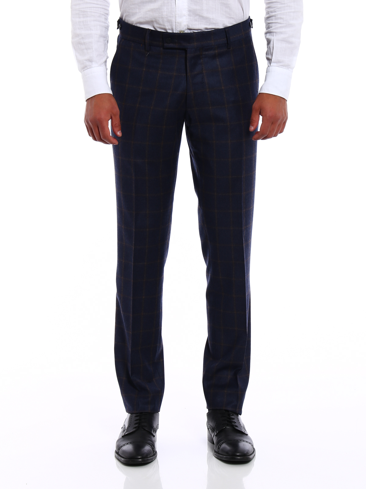 iKRIX Berwich: casual trousers - Elegant checked wool trousers