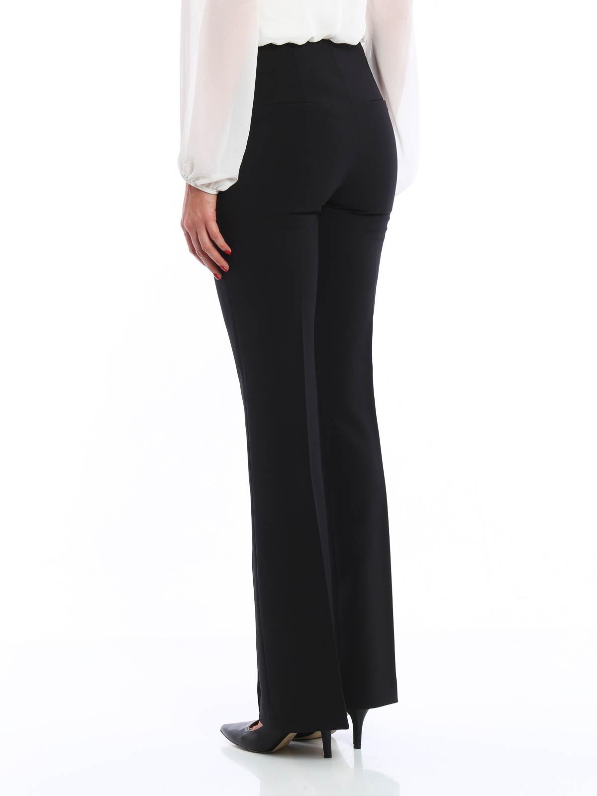 bc1469b769 iKRIX BLUMARINE  Pantalones de sastrerìa - Pantalón De Vestir Negro Para  Mujer
