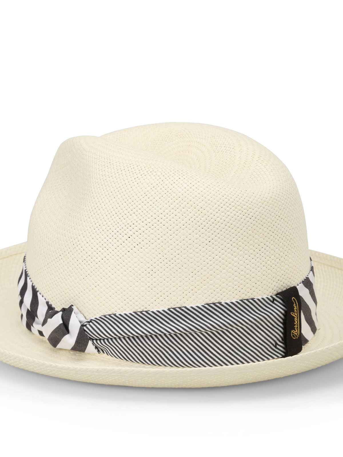 Borsalino - Quito Tie panama straw hat - hats   caps - 1411217580 42190acc6921