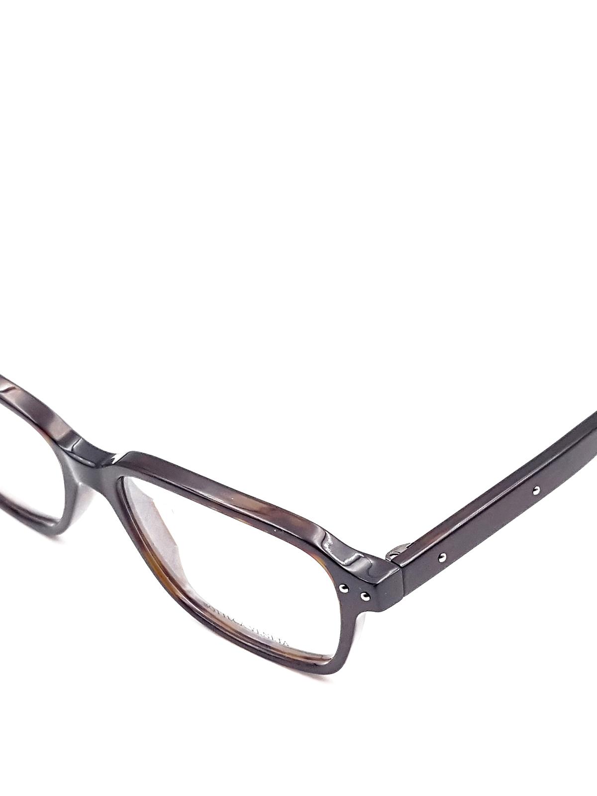 6da88402fab91 Bottega Veneta - Squared eyeglasses - glasses - BV0116O6