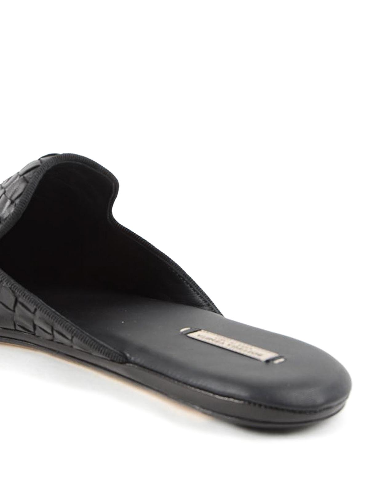 03172490753 iKRIX BOTTEGA VENETA  Loafers   Slippers - Fiandra Intrecciato nappa  slippers