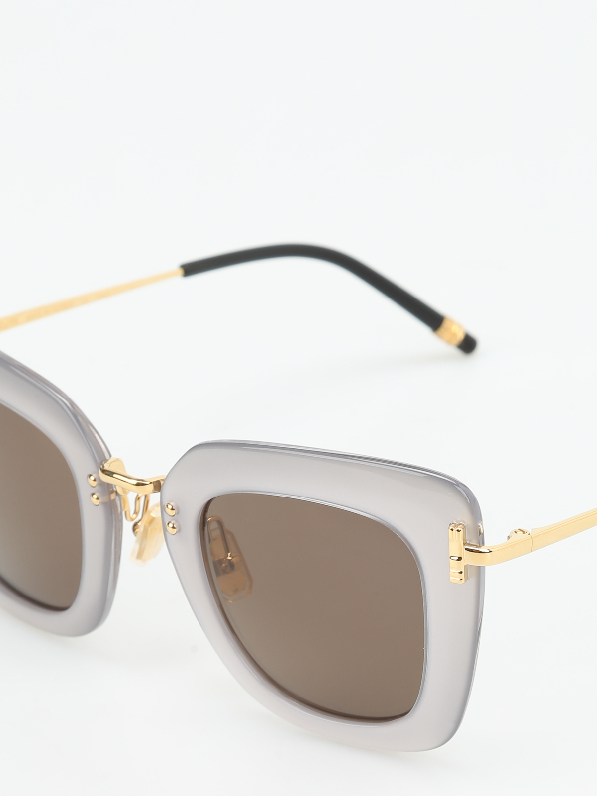 Ikrix Eye Boucheron Cat Square Sunglasses UZCUqwr