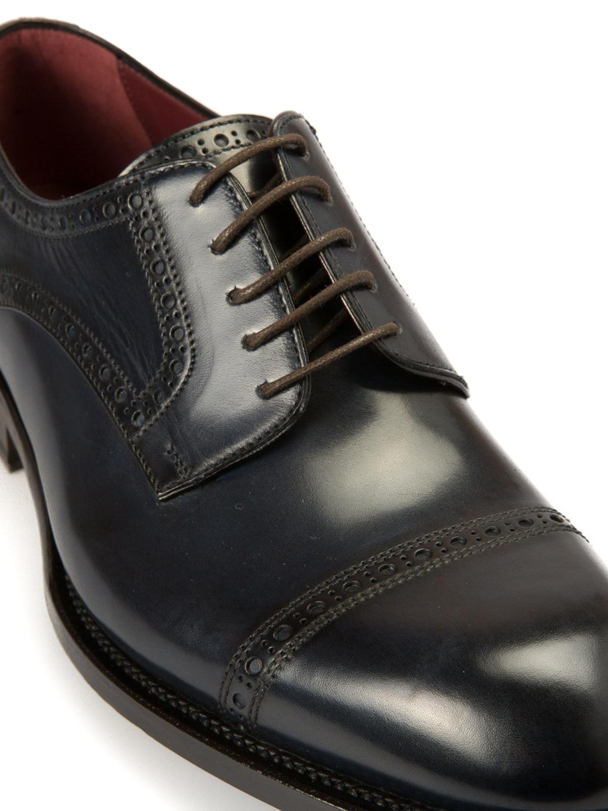 the latest 3c370 a0b29 Brioni - Scarpe Milano modello Derby - scarpe stringate ...