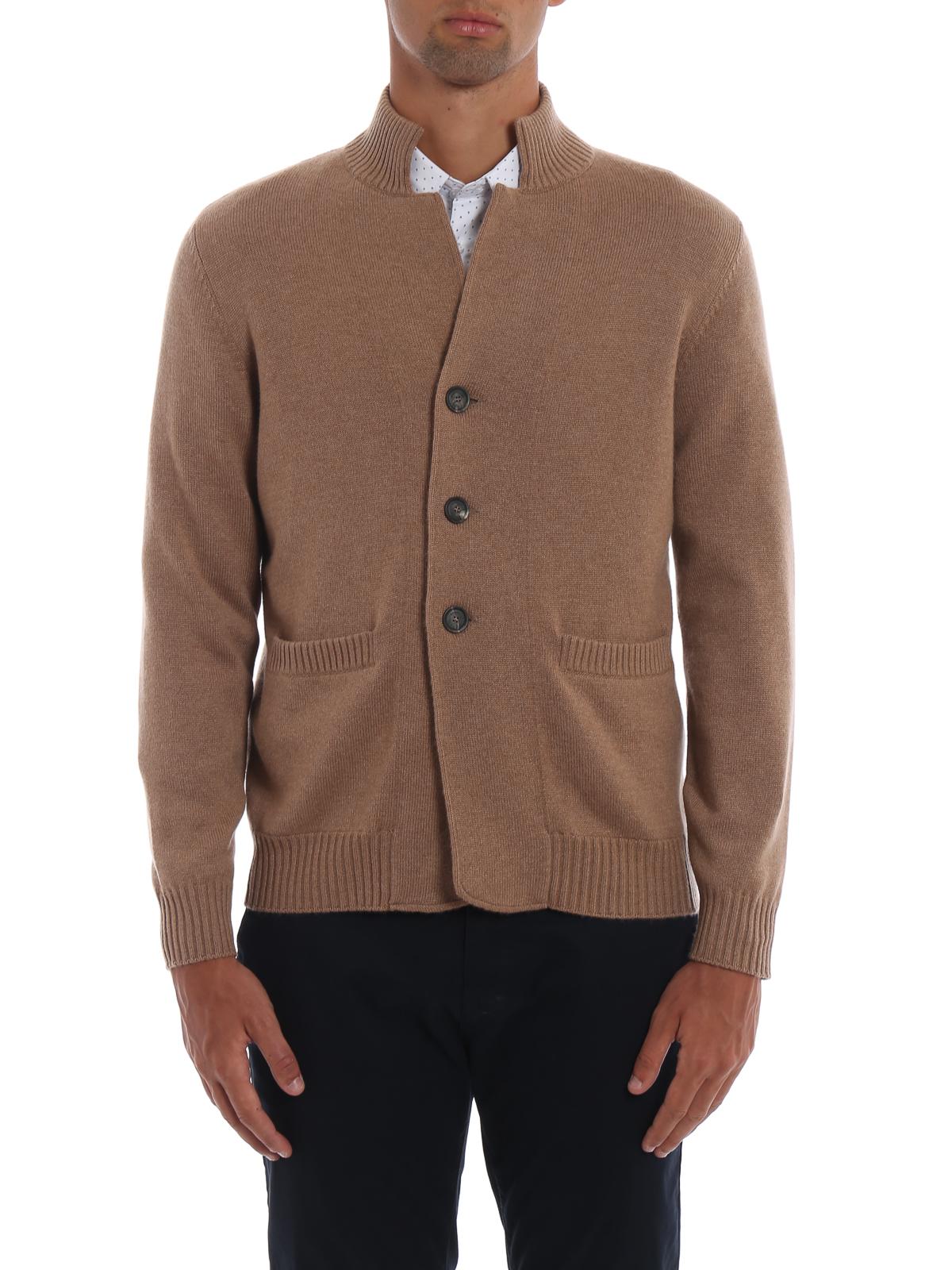 newest 9d5da f9634 Brunello Cucinelli - Cardigan in cashmere color cammello ...