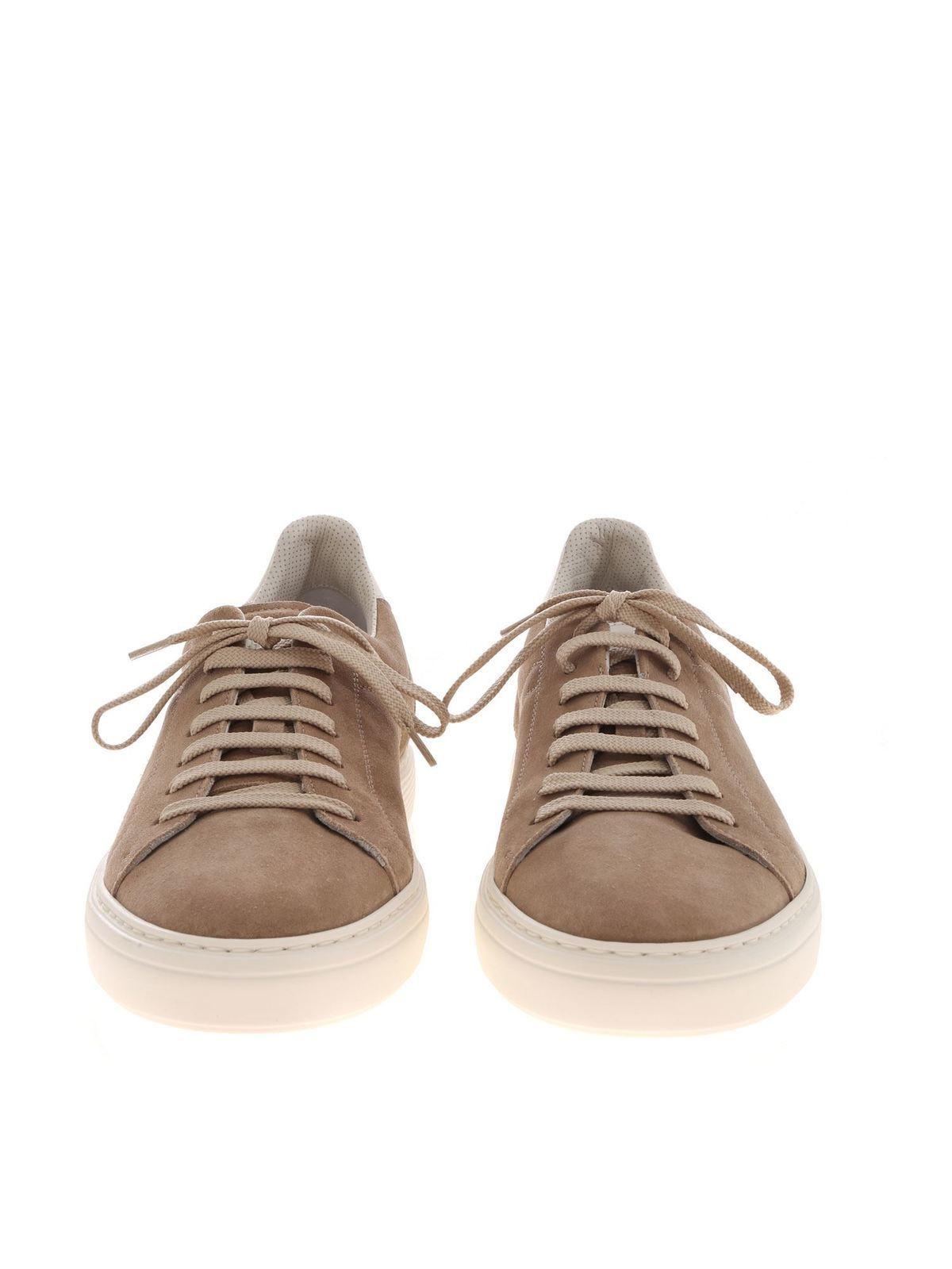 Brunello Cucinelli - Suede sneakers in