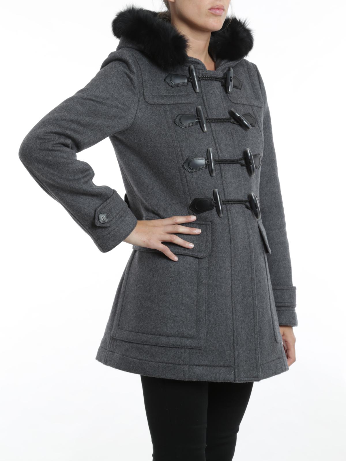 Burberry mantel damen dufflecoat