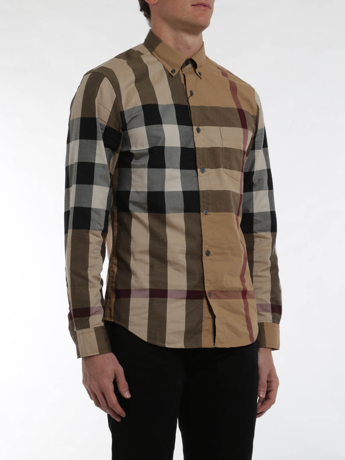 Exploded check shirt by burberry brit shirts ikrix for Burberry brit checked shirt