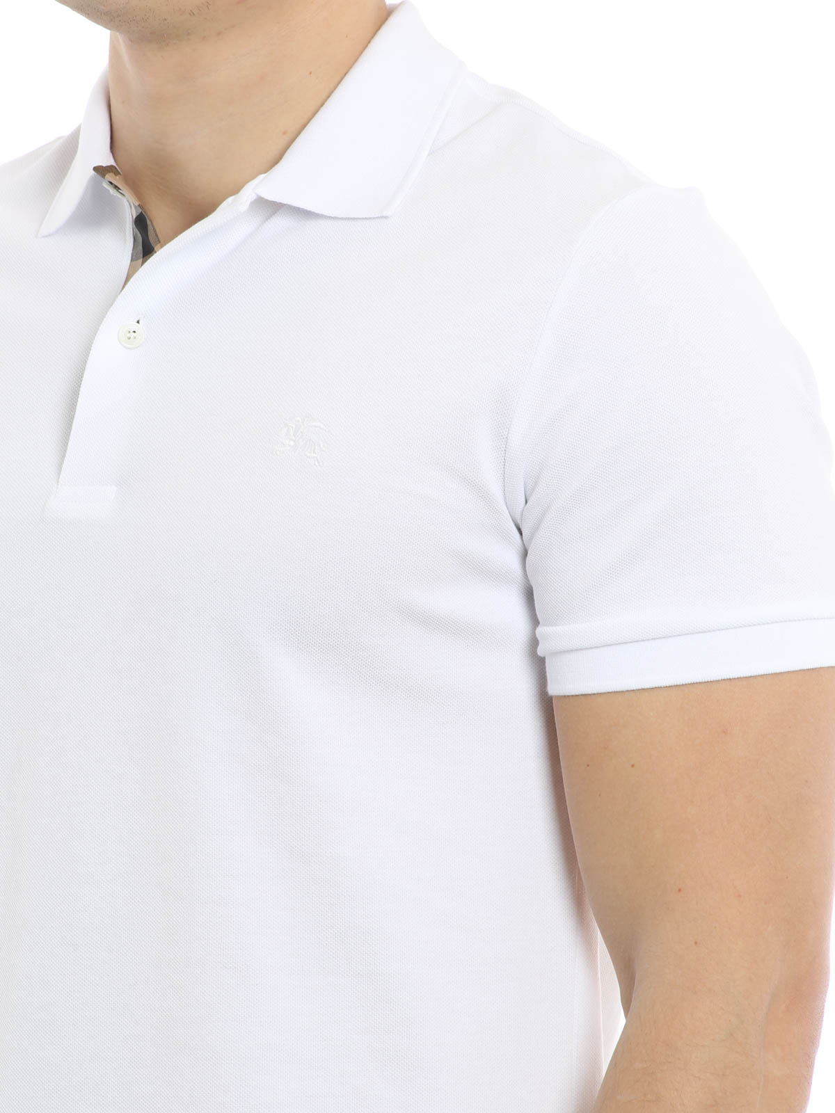 iKRIX Burberry: Cotton pique polo shirt