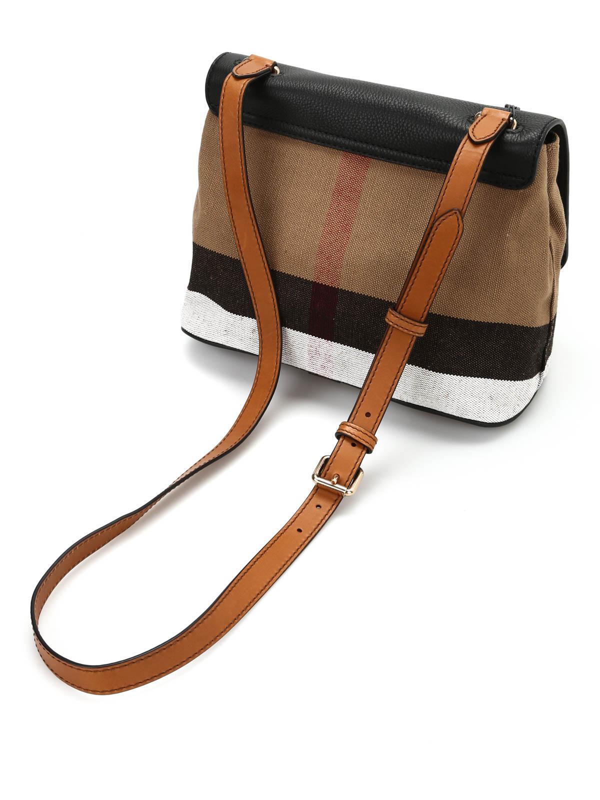 89c54391f1ae Burberry - Shellwood crossbody - cross body bags - 40205101 BLACK
