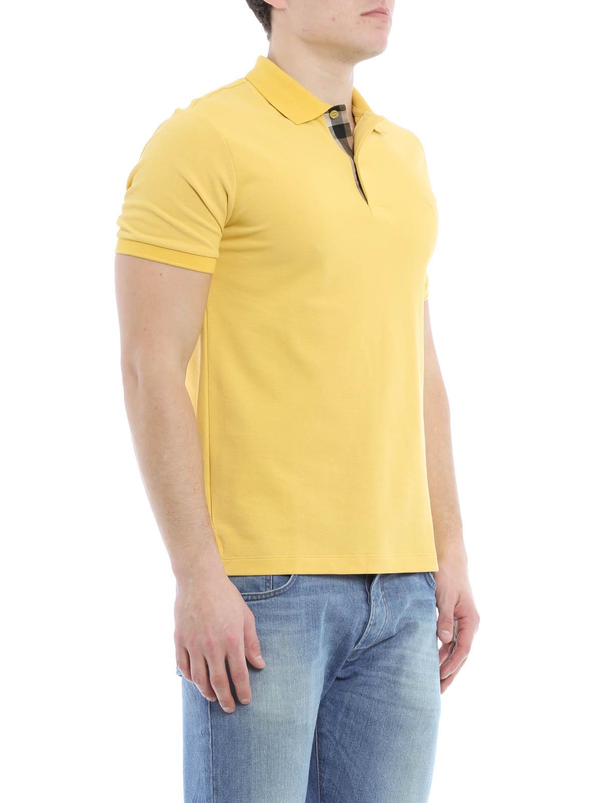 burberry pique polo shirt