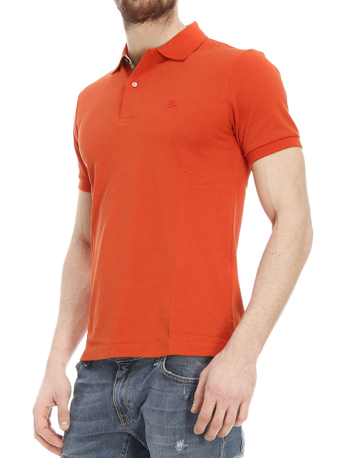Oxford cotton pique polo by burberry polo shirts ikrix for Cotton on polo shirt