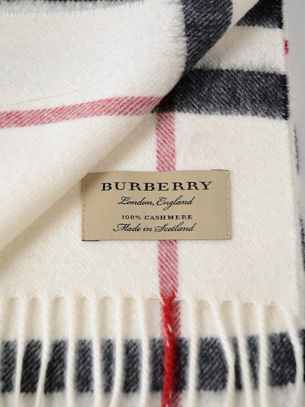 c01f1d7e3052 Burberry - Écharpe - Blanc - Écharpes - 4058352   iKRIX.com
