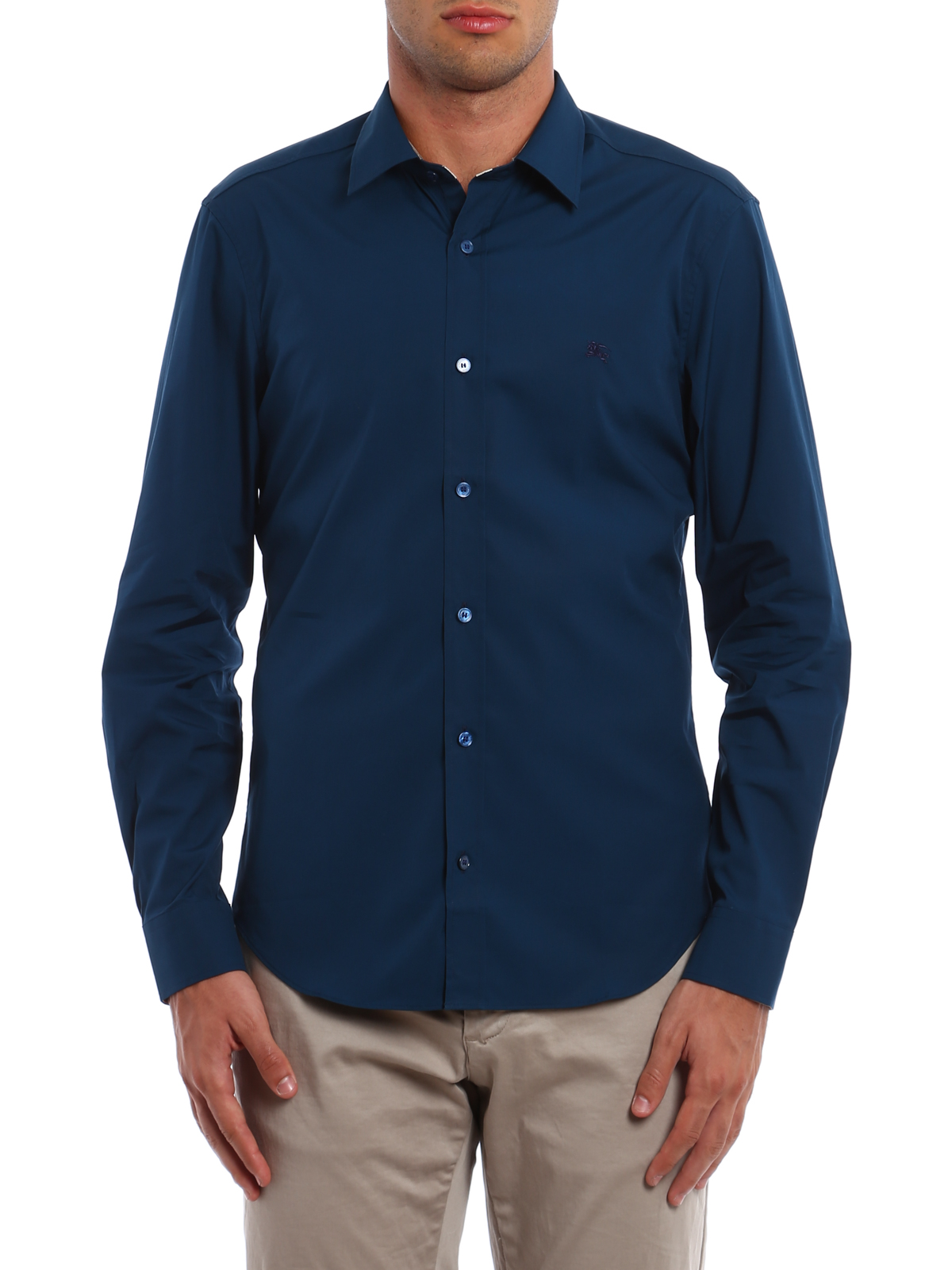 Burberry Cambridge Cotton Shirt Shirts 4024790