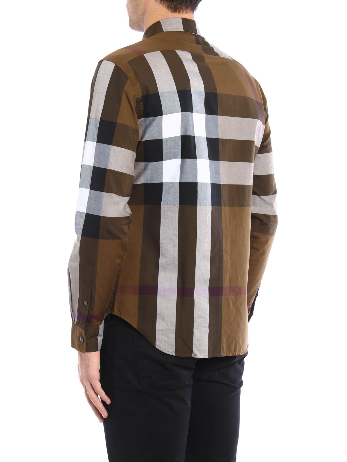 Burberry - Chemise Fred Pour Homme - Chemises - 4023504   iKRIX.com 8a93079f613